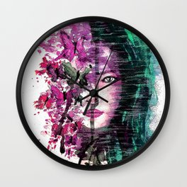 Evanescent 3 Wall Clock