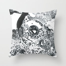 Just Patch Throw Pillow