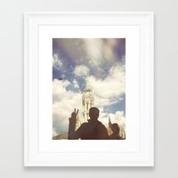 budapest Framed Art Prints featuring Budapest by BriAnneWills