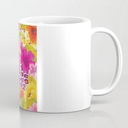 Floral Leopard  Coffee Mug