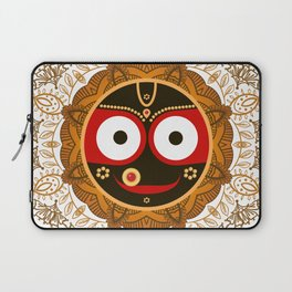 Jagannath. Indian God of the Universe. Lord Jagannatha. Laptop Sleeve