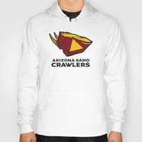 nfl Hoodies featuring Arizona Sandcrawlers - NFL by Steven Klock