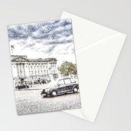 Buckingham Palace Snow Stationery Cards
