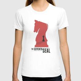 The Seventh Seal, Ingmar Bergman movie poster, swedish film, Max von Sydow T-shirt