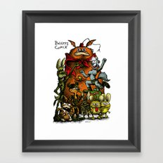 Balsley's Comix (poster) Framed Art Print