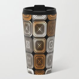 Geometric chocolate pattern Travel Mug