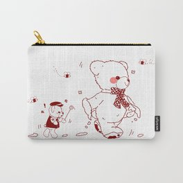 The Adventures of Bear and Baby Bear-Who took the honey Carry-All Pouch