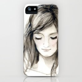 A portrait 4 iPhone Case