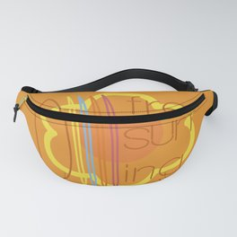 Free surfing Fanny Pack