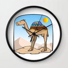 Exalted Camel Wall Clock