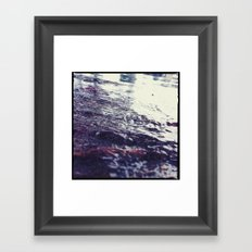 Watery Framed Art Print