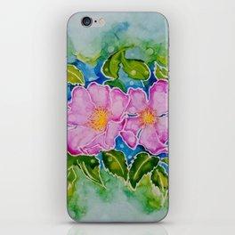 Alberta Wild Rose iPhone Skin