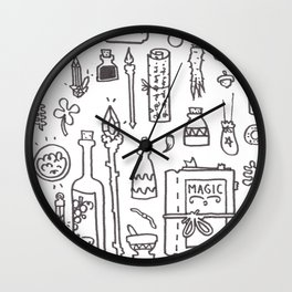 Wizard's Kit Wall Clock