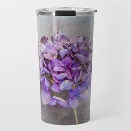 Beautiful Lilac Hydrangea Travel Mug