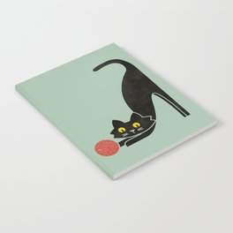 Fitz - the curious cat Notebook