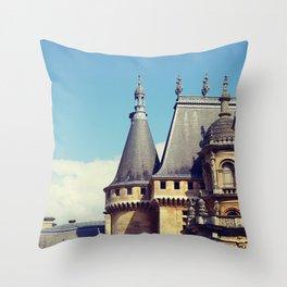 Mansion Throw Pillow