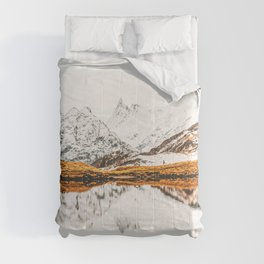 Glacial Reflection Comforters