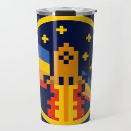 DogeCoin Up Rocket Travel Mug