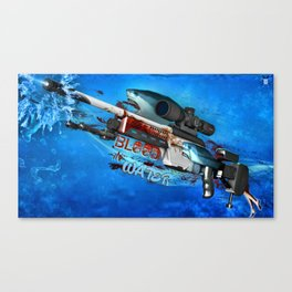 Sniper Rifle 2 Canvas Print