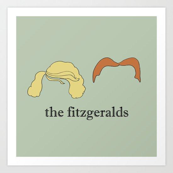 The Fitzgeralds Art Print