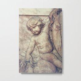 Left Hnad Cherub Metal Print