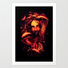 Ocean of Secrets Art Print