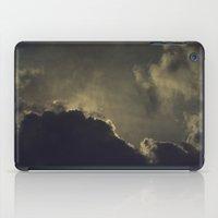 kansas iPad Cases featuring Over Kansas by josemanuelerre