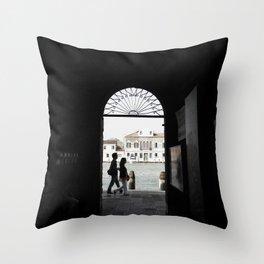 murano island - venice Throw Pillow