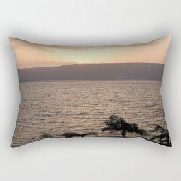 Sunset over the Galilee Rectangular Pillow
