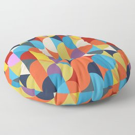 Simple Circle Pattern. Floor Pillow