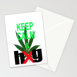 Keep Calm & hug Stationery Cards