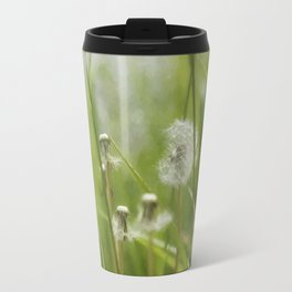 Three-Quarters of a Wish Left painterly Travel Mug