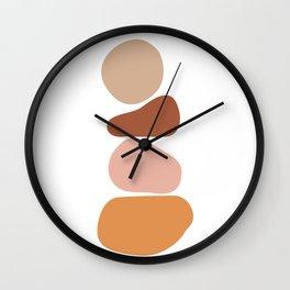 Minimalist abstract art Wall Clock