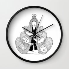 Barrels Wall Clock