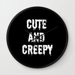Cute and Creepy Wall Clock