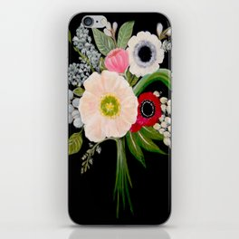 Spring Bouquet on Slate iPhone Skin