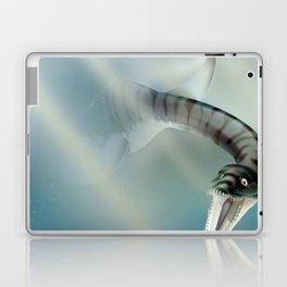 Loch Ness Scotland monster vintage travel poster Laptop & iPad Skin