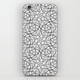 Curly cobweb iPhone Skin