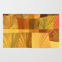 Abstract Golden Nevada Sunshine Rug