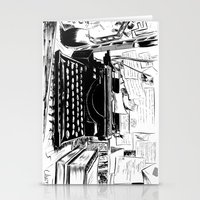 shakespeare Stationery Cards featuring Shakespeare and Company by Chris Hunt