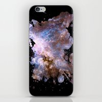 cosmos iPhone & iPod Skins featuring Cosmos by Spooky Dooky