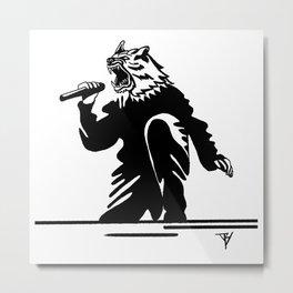 AniMusic (DOG) Metal Print