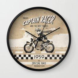 CAPTIAN RACER Wall Clock