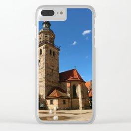 A Church In A Bavarian Village Clear iPhone Case