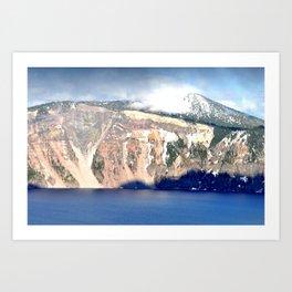 CRATER LAKE - OREGON Art Print