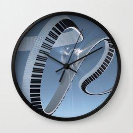 Soft Keys Wall Clock