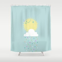Make it Rain Shower Curtain