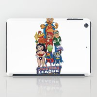 muppets iPad Cases featuring Justice League of Muppets by JoshEssel