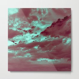 294 – Liquid Crystal Sky Metal Print