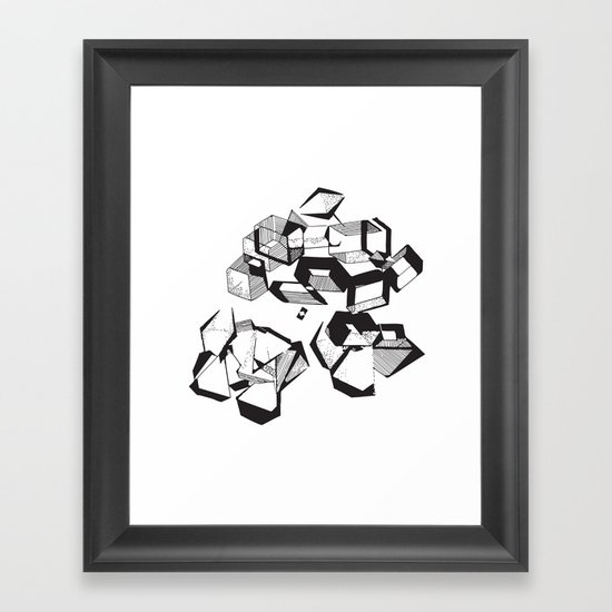 Some Like It Sweet Framed Art Print